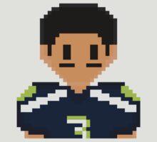 8Bit Russell Wilson 3Enigma NFL Tee by CrissChords