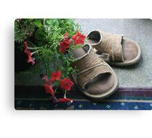 The Sandals Canvas Print