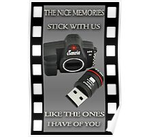 ✾◕‿◕✾NICE MEMORIES FRIENDSHIP PICTURE/CARD✾◕‿◕✾ Poster