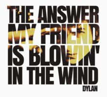 Bob Dylan blowin' in the wind  T-Shirt