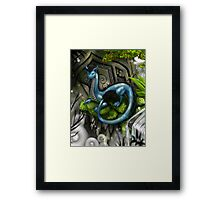 Temple Guardian Framed Print