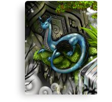 Temple Guardian Canvas Print