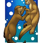 Otter Love by Reimina Keishana