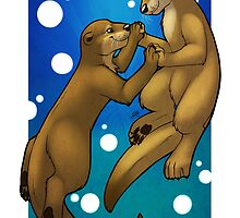 Otter Love by Reimina Keishana