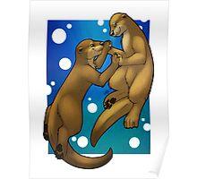 Otter Love Poster