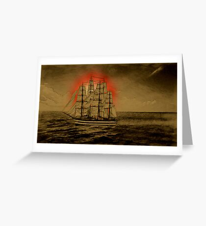 Set Sail - 001 Greeting Card