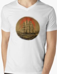 Set Sail - 001 Mens V-Neck T-Shirt