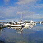 St Helens Marina by Graeme  Hyde