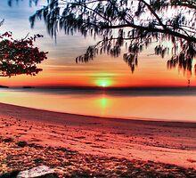 Sunrise at Kurrimine Beach by Mark Bilham