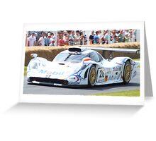 Racing Car at Goodwood  Greeting Card