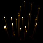 Church Candles by Christopher Martin