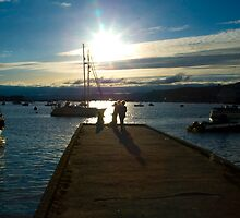 Teignmouth pontoon by Chris Martin
