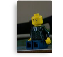 Lego Man Canvas Print