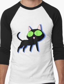 trigun cat Men's Baseball ¾ T-Shirt