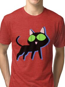 trigun cat Tri-blend T-Shirt