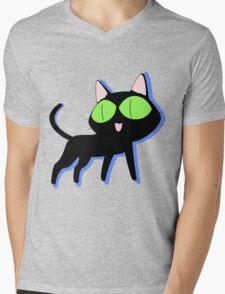 trigun cat Mens V-Neck T-Shirt