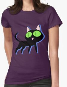 trigun cat Womens Fitted T-Shirt