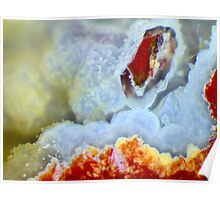 Open Wide (Plume Agate) Poster
