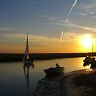 Blakeney Quay by Christopher Martin