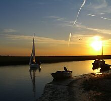Blakeney Quay by Chris Martin