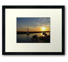 Blakeney Quay Framed Print