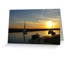 Blakeney Quay Greeting Card
