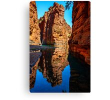 Red Gorge Reflections Canvas Print