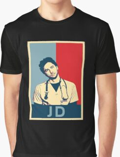 JD Scrubs poster Graphic T-Shirt