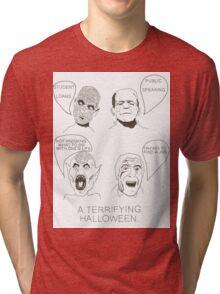 Horrifying  Tri-blend T-Shirt
