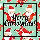 Christmas - Vintage Santa by The Eighty-Sixth Floor