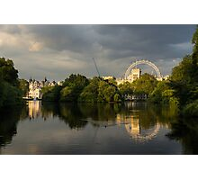 London - Illuminated and Reflected Photographic Print