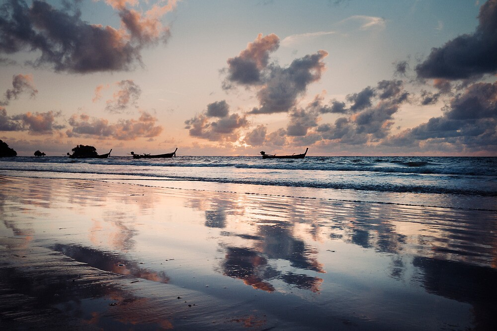 Nai Yang Sunset by Jamie Nield