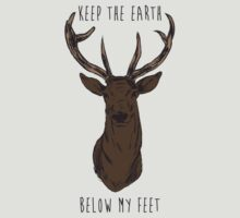 Keep The Earth Below My Feet. by GoldenParadigm