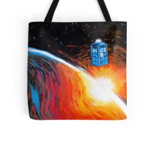 Time Travel Tardis Tote Bag