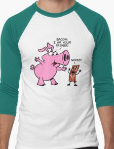 Bacon, I Am Your Father Men's Baseball ¾ T-Shirt