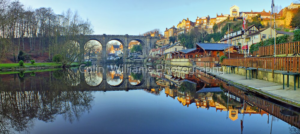 Knaresborough Reflections - HDR by Colin  Williams Photography