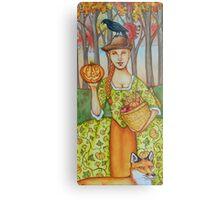 Autumn Colonial Metal Print