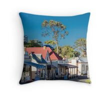 Stanley Shopfronts, Tasmania, Australia Throw Pillow