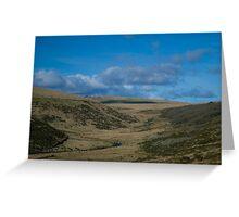 Dartmoor - wistman wood Greeting Card