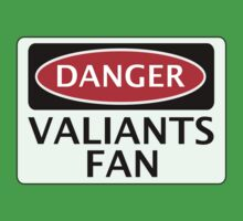 DANGER PORT VALE, VALIANTS FAN, FOOTBALL FUNNY FAKE SAFETY SIGN Baby Tee