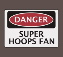 DANGER QUEENS PARK RANGERS, SUPER HOOPS FAN, FOOTBALL FUNNY FAKE SAFETY SIGN Kids Clothes