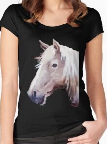 Blondie in the Fall Women's Fitted Scoop T-Shirt