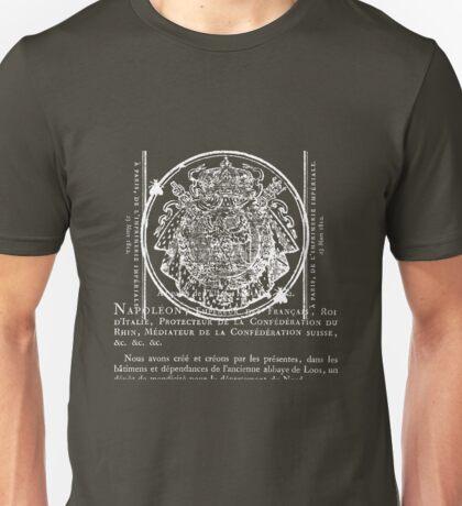 Emperor III - White Unisex T-Shirt