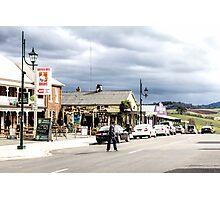 Sheffield Shopfronts, Tasmania, Australia Photographic Print