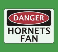 DANGER WATFORD HORNETS FAN, FUNNY FAKE SAFETY SIGN Kids Tee