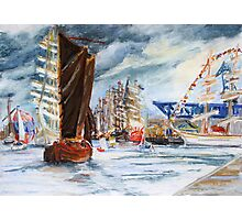 Arrival At The Hanse Sail Rostock Photographic Print