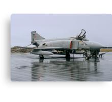 McDonnell F-4M Phantom FGR.2 XV423/D at RAF Stanley Canvas Print