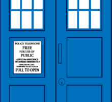 DOCTOR WHO. Sticker