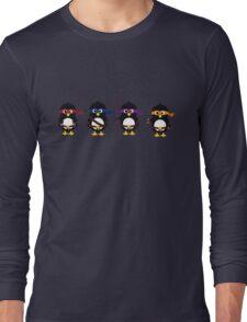 Penguins ninjas Long Sleeve T-Shirt