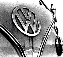 Volkswagen Camper Van by Andrew Pounder